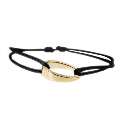 Bracelet cordon OH d'ohdislemoi en argent