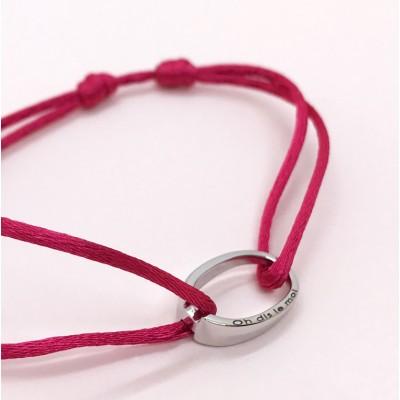 bracelet design or blanc