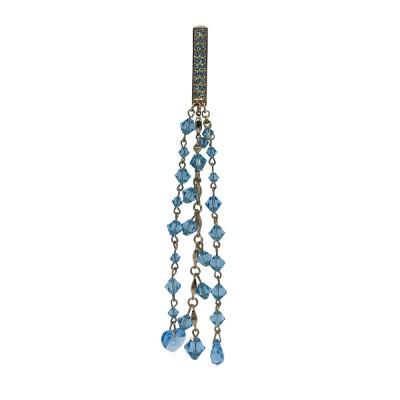 Bijou attachante charms cristal