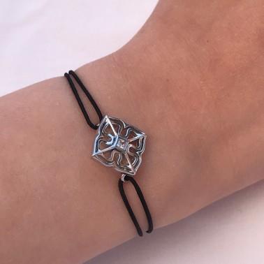 """Bracelet """"Petite Louise""""en argent, Ohdislemoi-Joaillerie-Paris"""