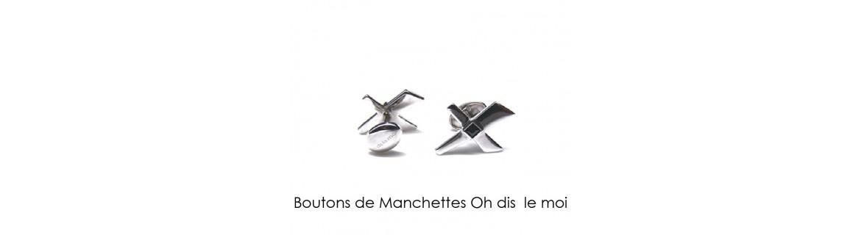 BOUTONS DE MANCHETTES